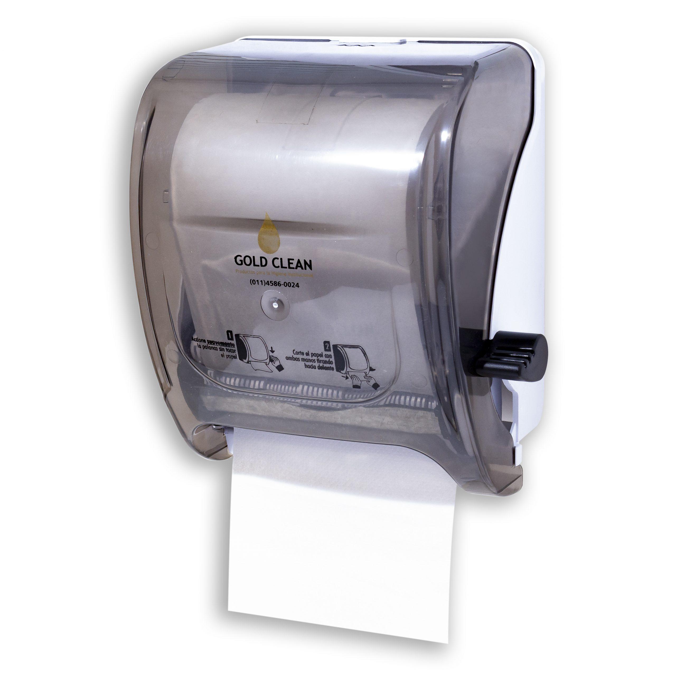 Dispenser toalla en rollo con palanca